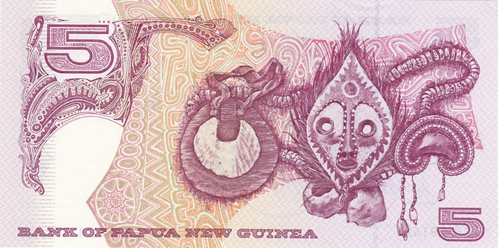 ¿Se pueden coleccionar todos los billetes de un país? PAPUA NUEVA GUINEA 5_kina19