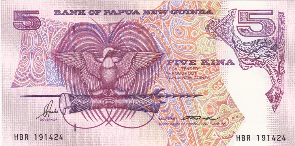 ¿Se pueden coleccionar todos los billetes de un país? PAPUA NUEVA GUINEA 5_kina20
