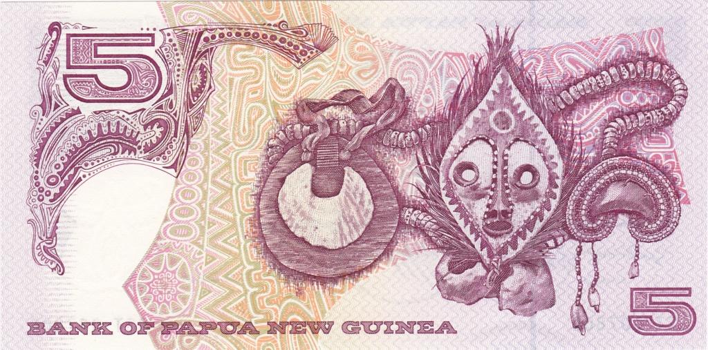 ¿Se pueden coleccionar todos los billetes de un país? PAPUA NUEVA GUINEA 5_kina21