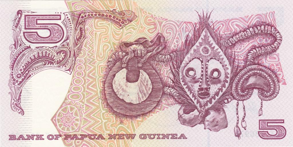¿Se pueden coleccionar todos los billetes de un país? PAPUA NUEVA GUINEA 5_kina22