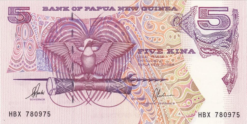 ¿Se pueden coleccionar todos los billetes de un país? PAPUA NUEVA GUINEA 5_kina24