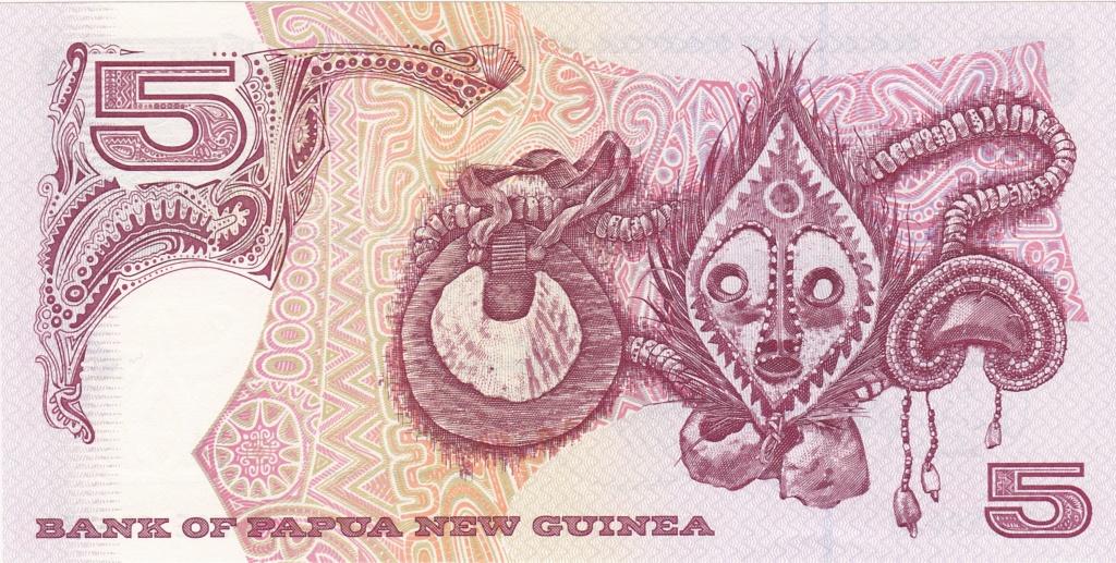 ¿Se pueden coleccionar todos los billetes de un país? PAPUA NUEVA GUINEA 5_kina26