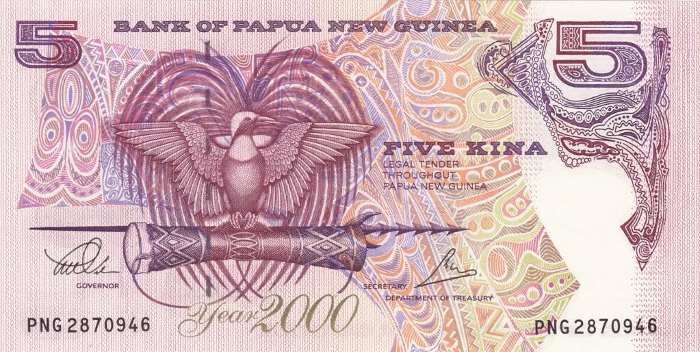 ¿Se pueden coleccionar todos los billetes de un país? PAPUA NUEVA GUINEA 5_kina30