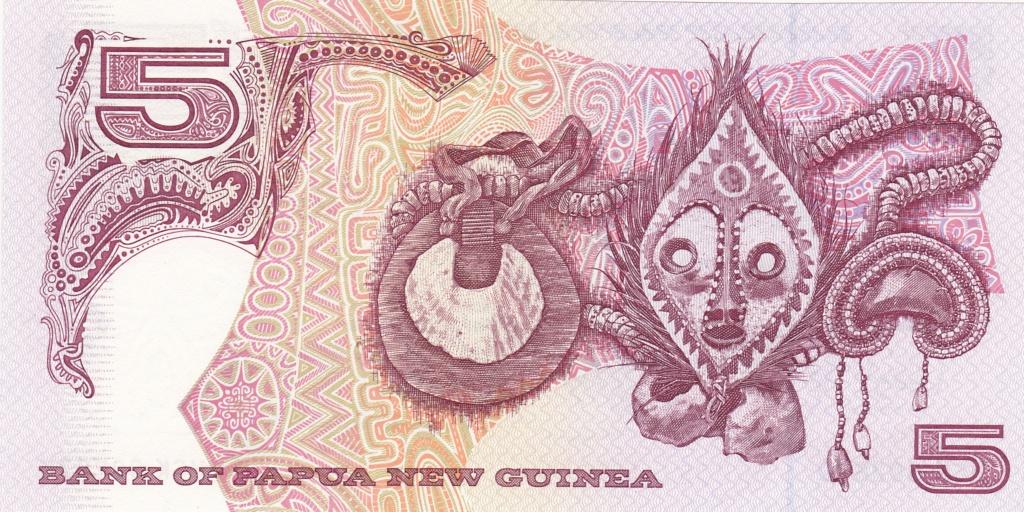 ¿Se pueden coleccionar todos los billetes de un país? PAPUA NUEVA GUINEA 5_kina31