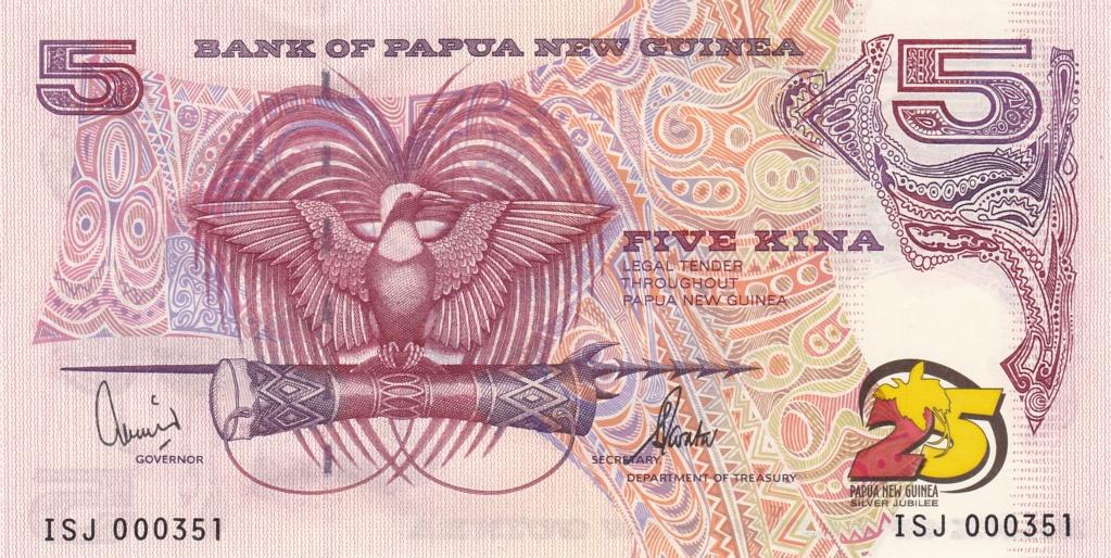 ¿Se pueden coleccionar todos los billetes de un país? PAPUA NUEVA GUINEA 5_kina32