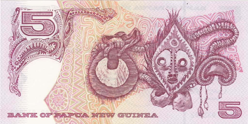 ¿Se pueden coleccionar todos los billetes de un país? PAPUA NUEVA GUINEA 5_kina35
