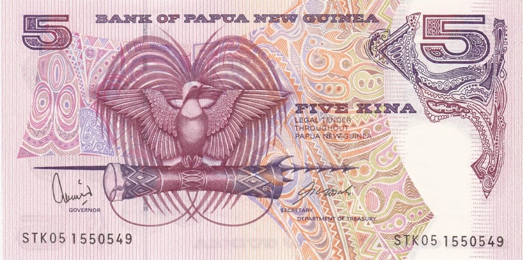 ¿Se pueden coleccionar todos los billetes de un país? PAPUA NUEVA GUINEA 5_kina37