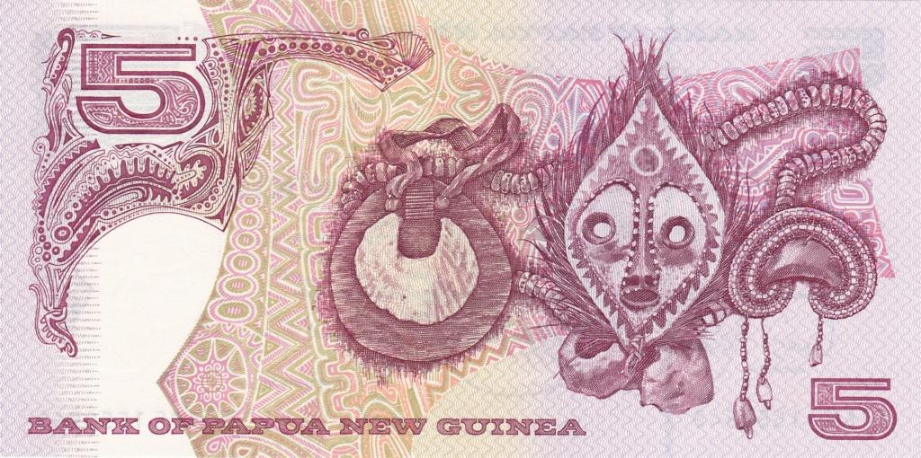 ¿Se pueden coleccionar todos los billetes de un país? PAPUA NUEVA GUINEA 5_kina38