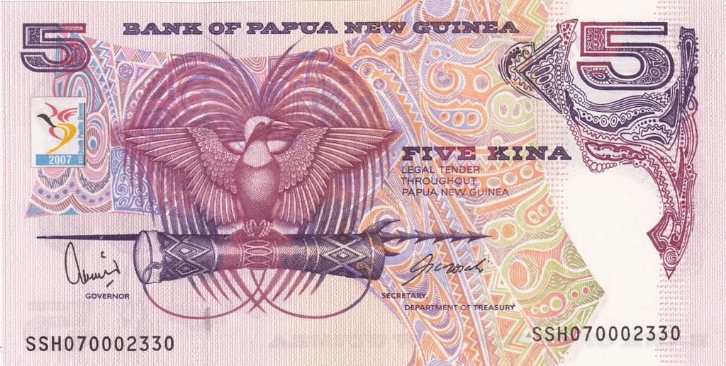 ¿Se pueden coleccionar todos los billetes de un país? PAPUA NUEVA GUINEA 5_kina41