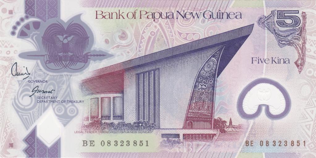 ¿Se pueden coleccionar todos los billetes de un país? PAPUA NUEVA GUINEA 5_kina42