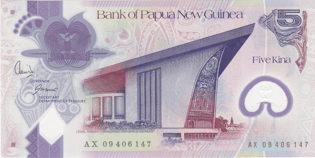 ¿Se pueden coleccionar todos los billetes de un país? PAPUA NUEVA GUINEA 5_kina43