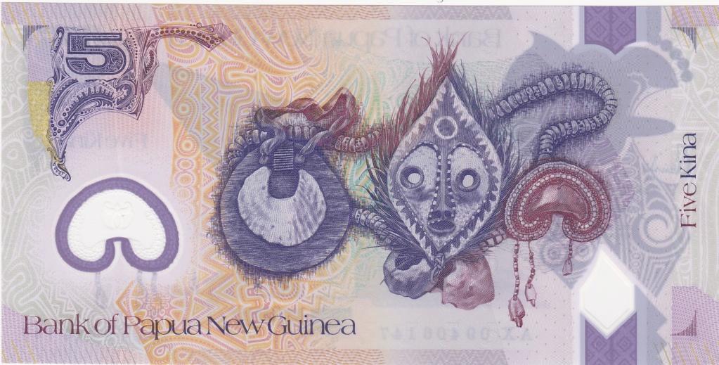 ¿Se pueden coleccionar todos los billetes de un país? PAPUA NUEVA GUINEA 5_kina47