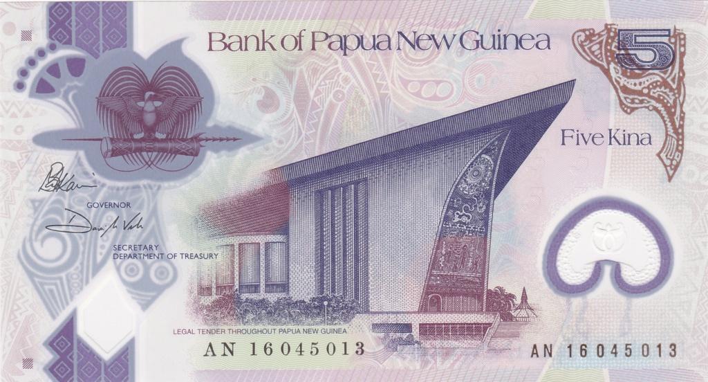 ¿Se pueden coleccionar todos los billetes de un país? PAPUA NUEVA GUINEA 5_kina48