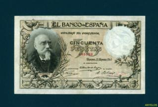 50 Pesetas 1905 - Echegaray (Vergüenzas) 68552012