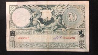 50 Pesetas 1905 - Echegaray (Vergüenzas) 68552013