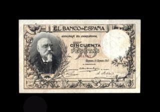 50 Pesetas 1905 - Echegaray (Vergüenzas) 92478710