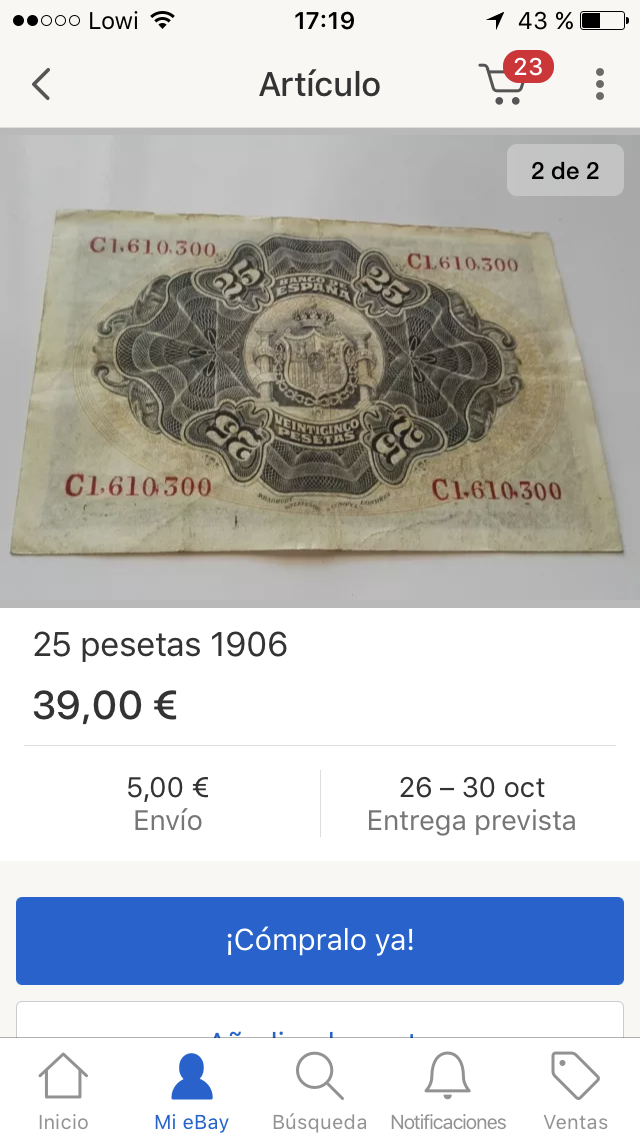 Pillada - 25 Pesetas 1906 Restaurado - Página 2 C1610310