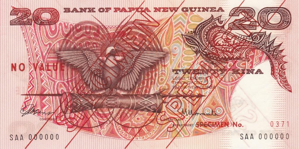 Papúa Nueva Guinea - Especímenes de la primera emisión Img_2076