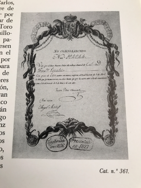 Vale Real - Real Caja de Consolidación 1824 - 100 pesos Img_8610