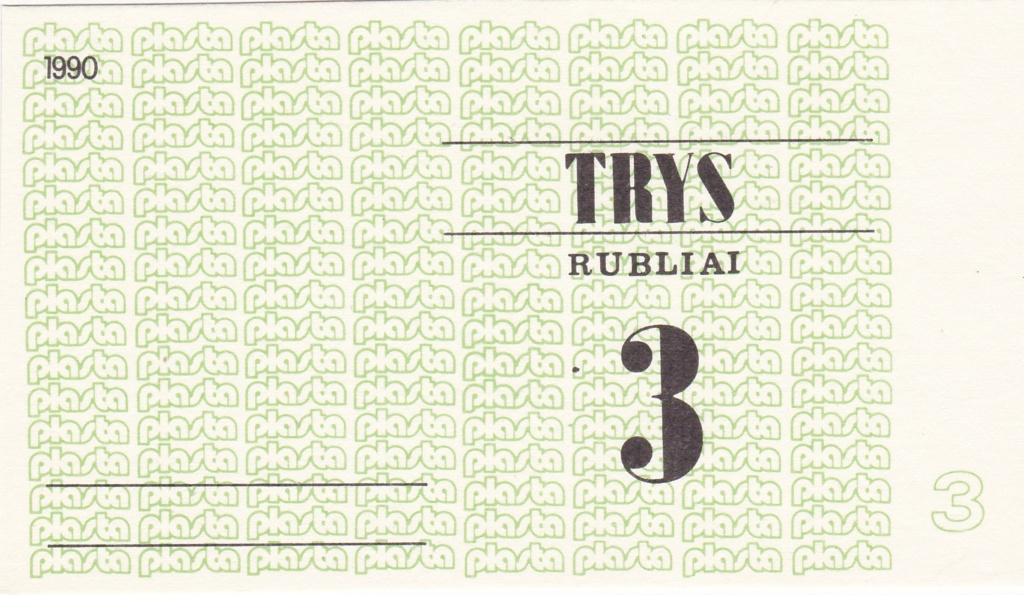 Billetes Plasta Lituan11