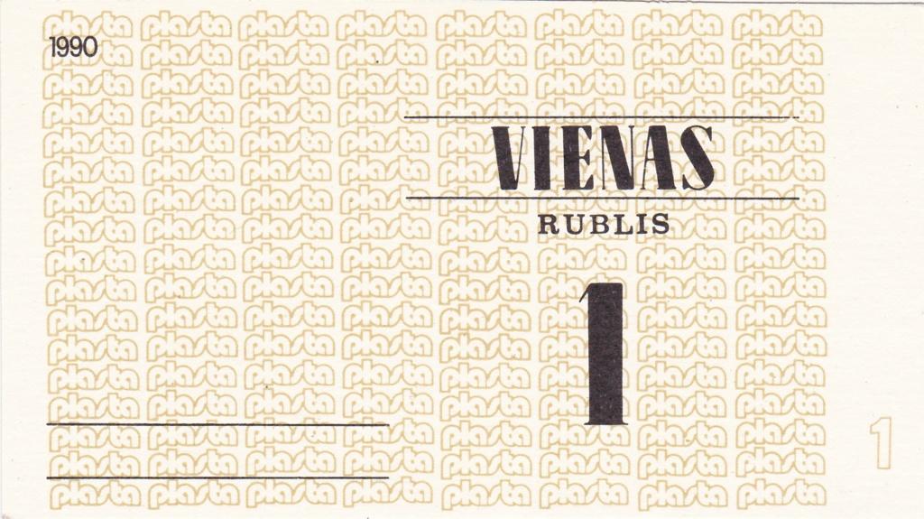 Billetes Plasta Lituan12
