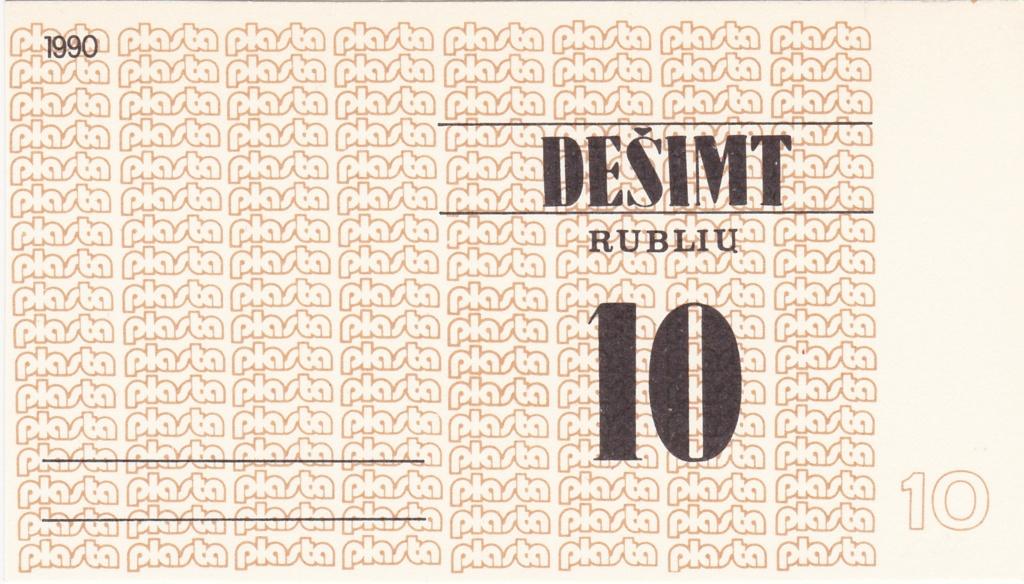 Billetes Plasta Lituan14