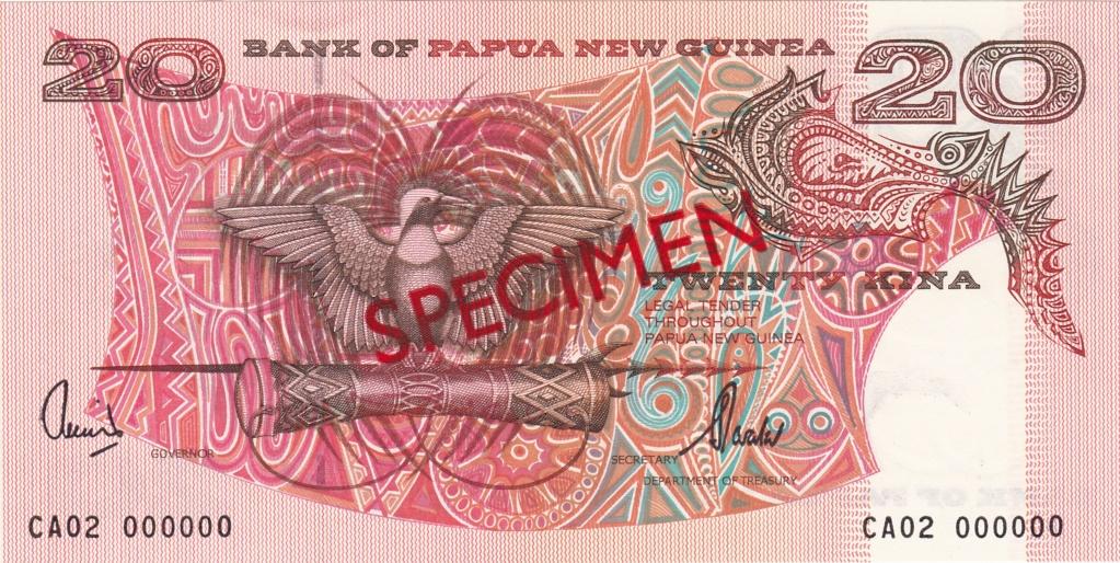 ¿Se pueden coleccionar todos los billetes de un país? PAPUA NUEVA GUINEA Specim14
