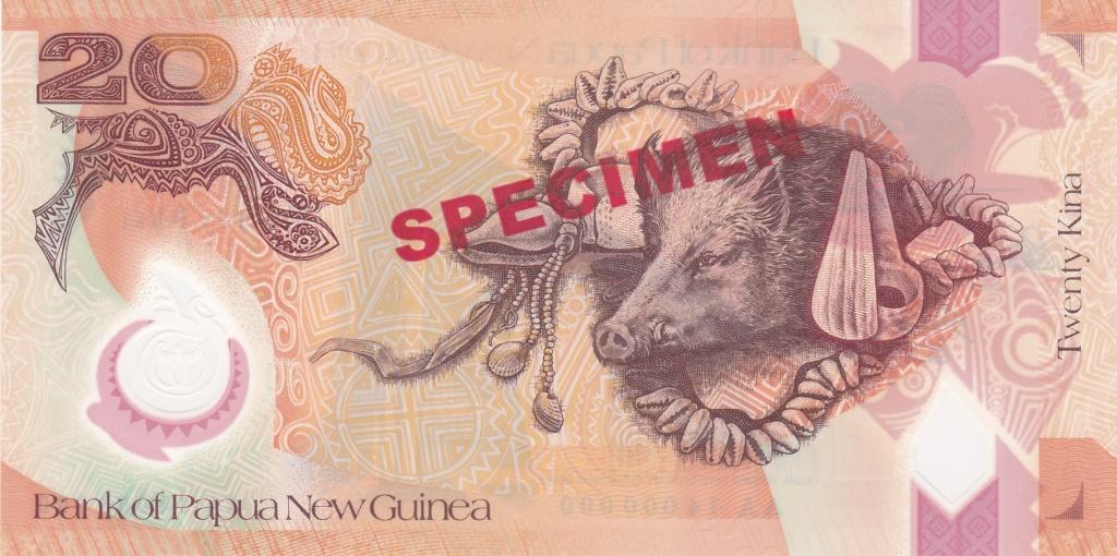 ¿Se pueden coleccionar todos los billetes de un país? PAPUA NUEVA GUINEA Specim16