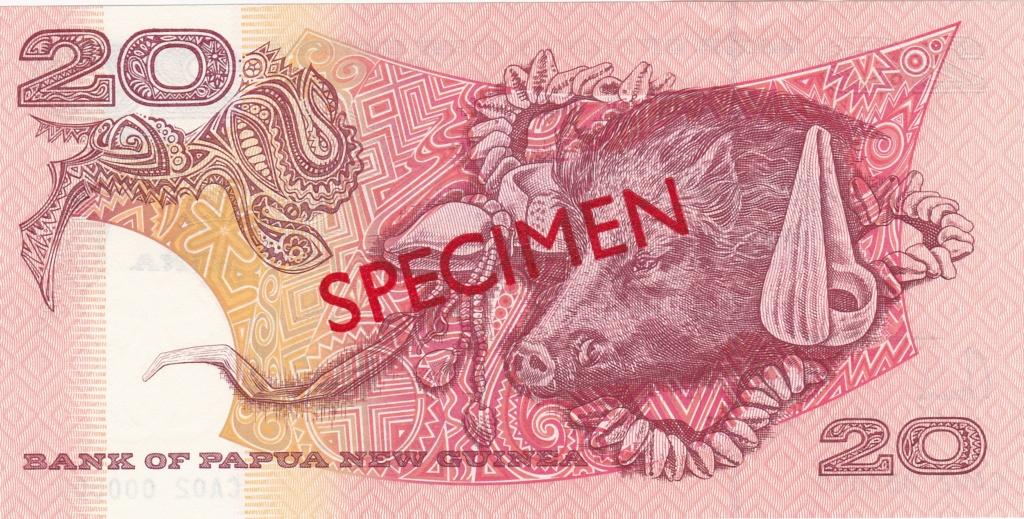 ¿Se pueden coleccionar todos los billetes de un país? PAPUA NUEVA GUINEA Specim17