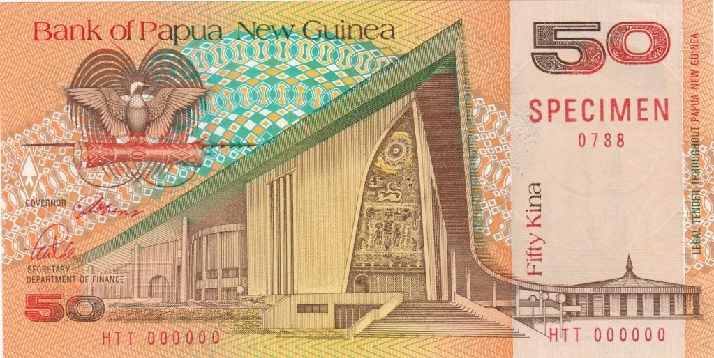 ¿Se pueden coleccionar todos los billetes de un país? PAPUA NUEVA GUINEA Specim19