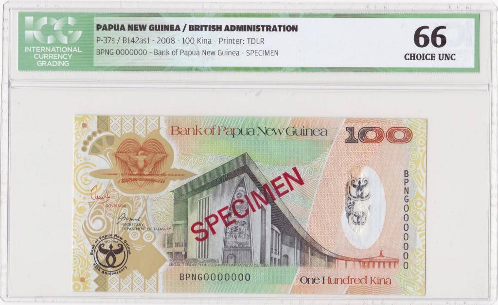 ¿Se pueden coleccionar todos los billetes de un país? PAPUA NUEVA GUINEA Specim21