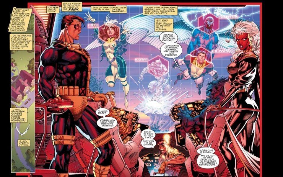 RECOMENDACIONES (Comic, ilustración...) X-men-10