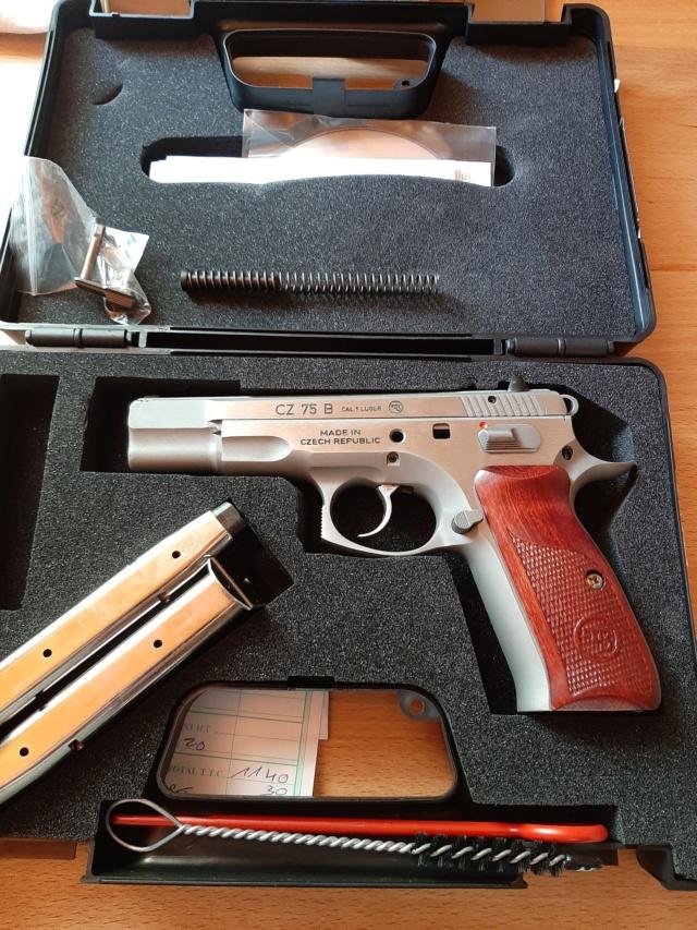 cuivrage de l'inox sur pistolet neuf..... 20200521