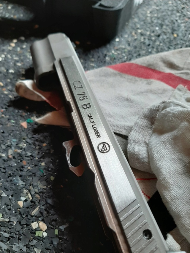 cuivrage de l'inox sur pistolet neuf..... 20200610