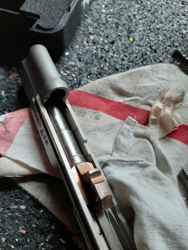 cuivrage de l'inox sur pistolet neuf..... 20200611
