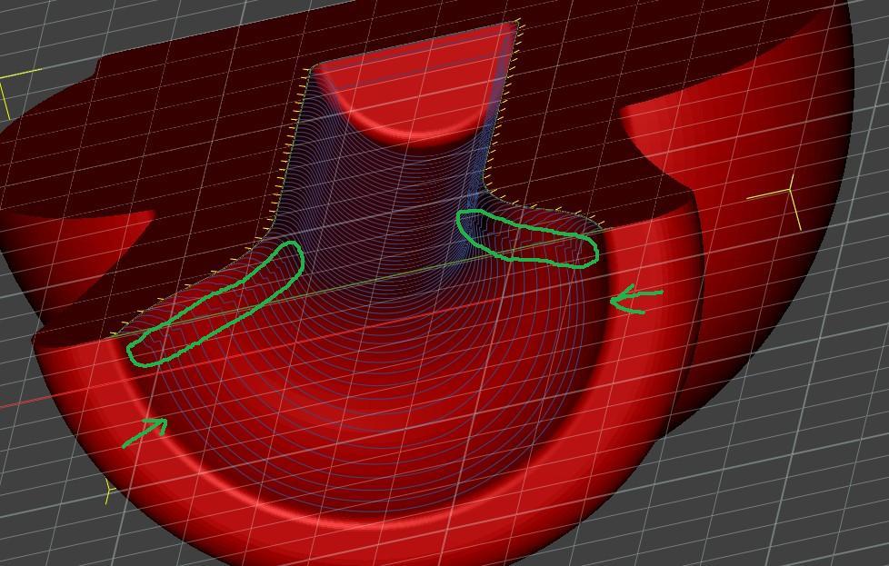 Usinage 3D profond: Réalisations et Paramétrages CAMBAM sur MDF - Page 2 Cb10