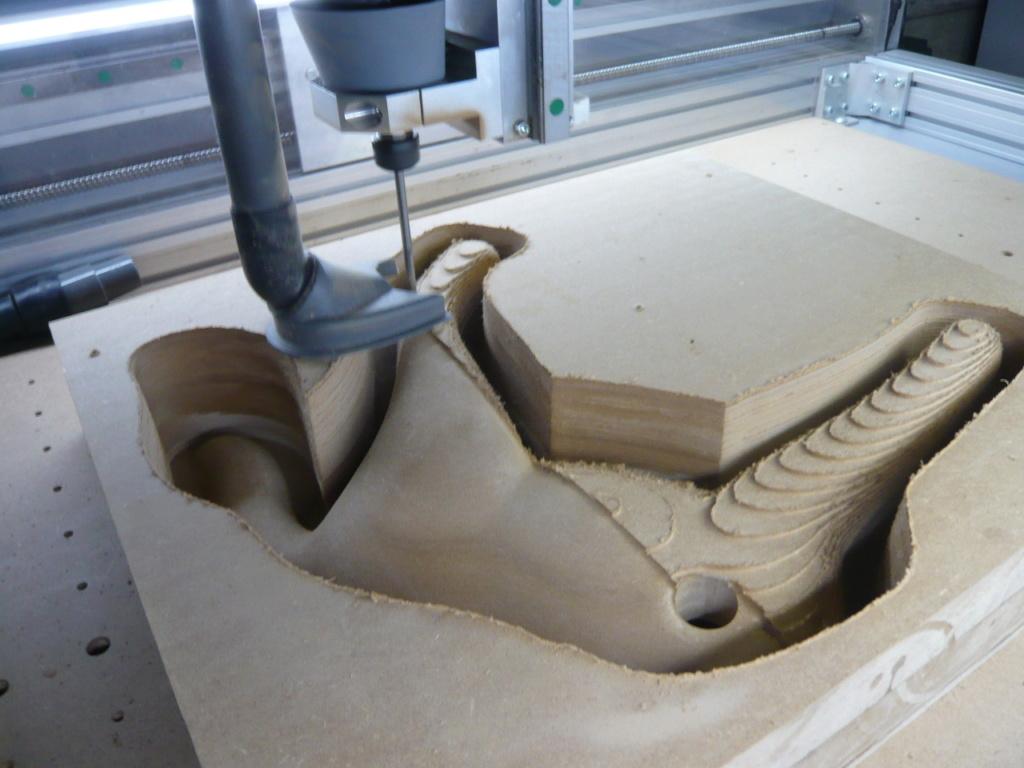 Usinage 3D profond: Réalisations et Paramétrages CAMBAM sur MDF - Page 4 P1060311