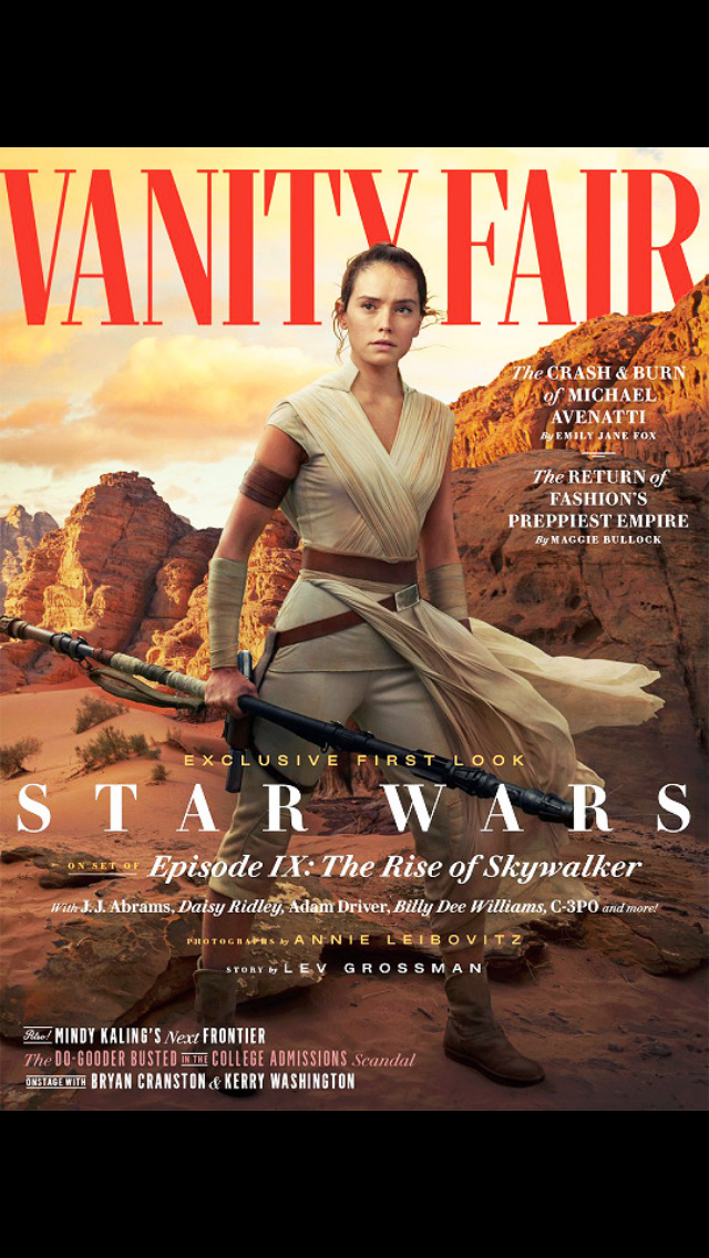 Vanity Fair Feature and Lebowitz Photos for The Rise of Skywalker - Page 4 4a72a710