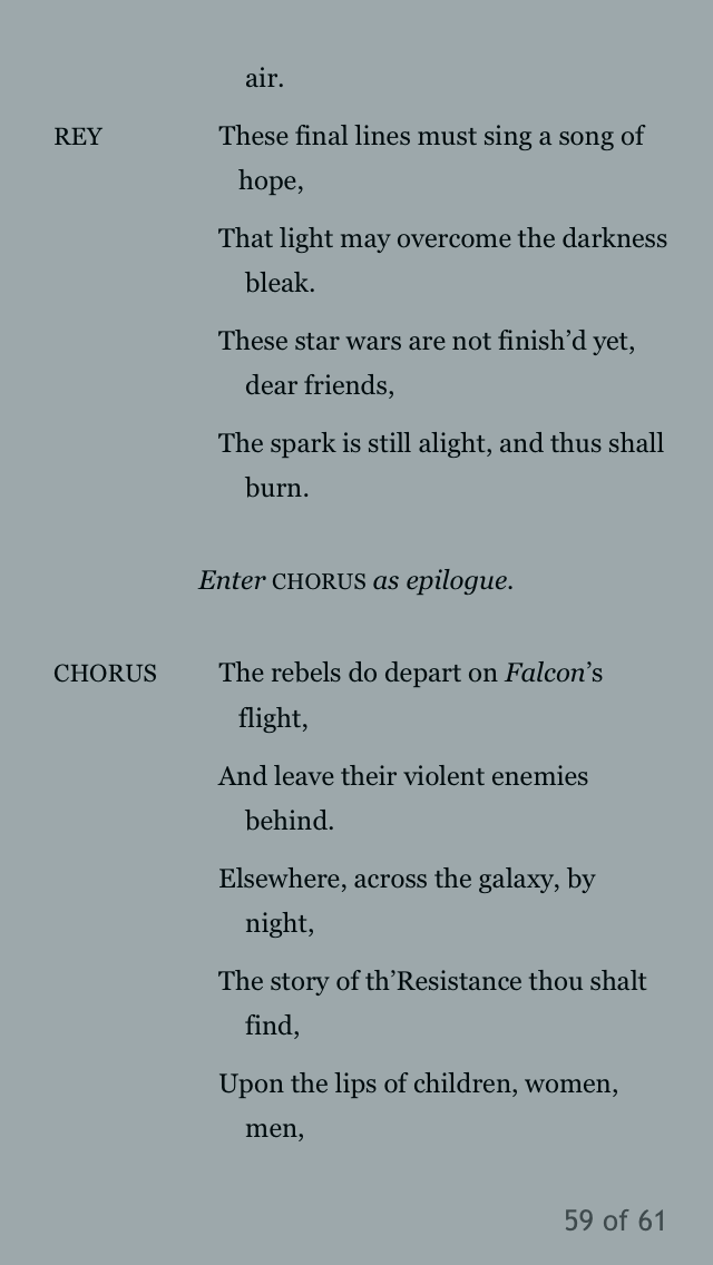The Last Jedi and the Shakespeare Novelizations - Page 5 72a78410