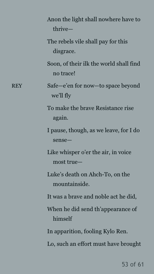 The Last Jedi and the Shakespeare Novelizations - Page 5 77495710