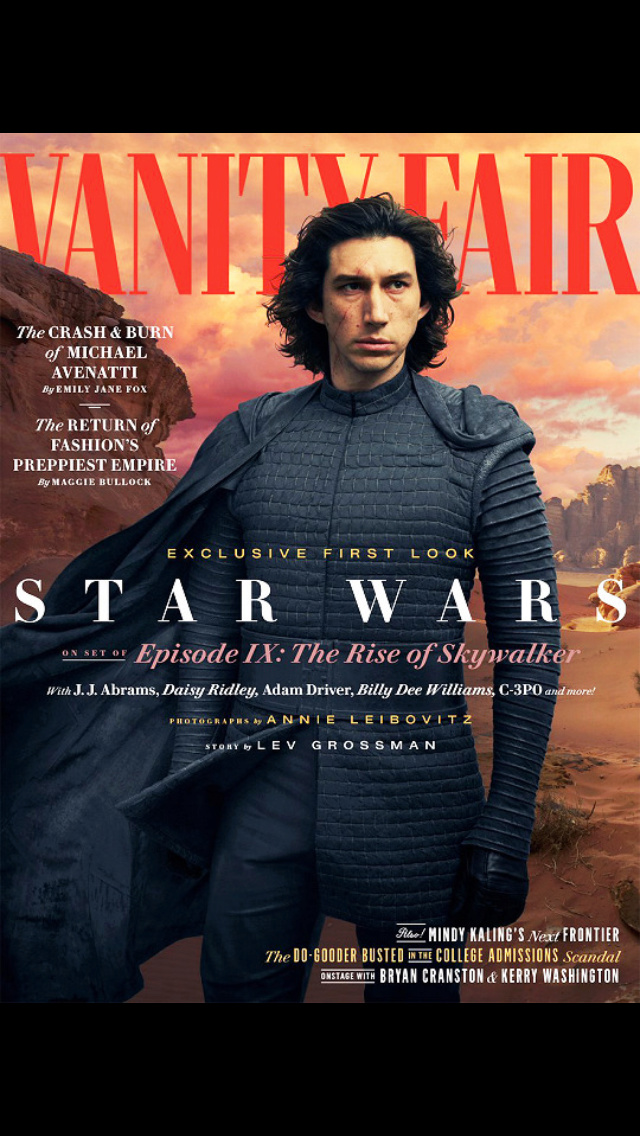 Vanity Fair Feature and Lebowitz Photos for The Rise of Skywalker - Page 4 78687210