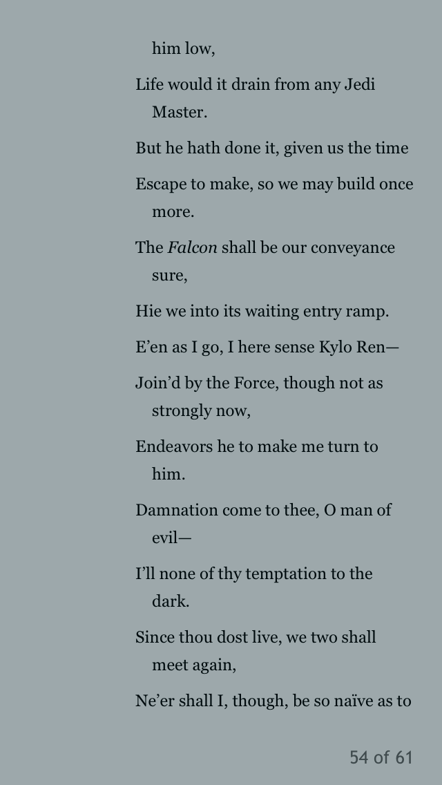 The Last Jedi and the Shakespeare Novelizations - Page 5 8f1c4c10