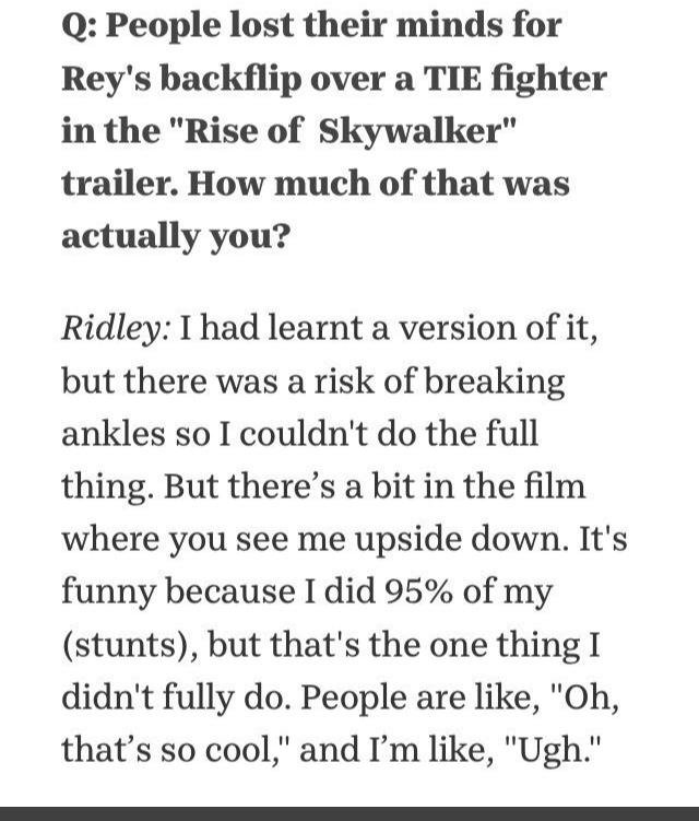 Episode IX: The Rise of Skywalker Press Tour & Interviews - Page 8 C5950d10