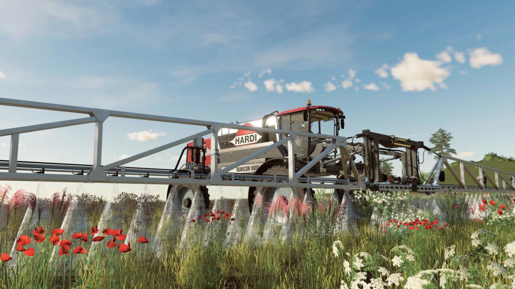 Farming Simulator 19 : devBlog #3 : Nouvelles cultures et lutte contre les mauvaises herbes 0910