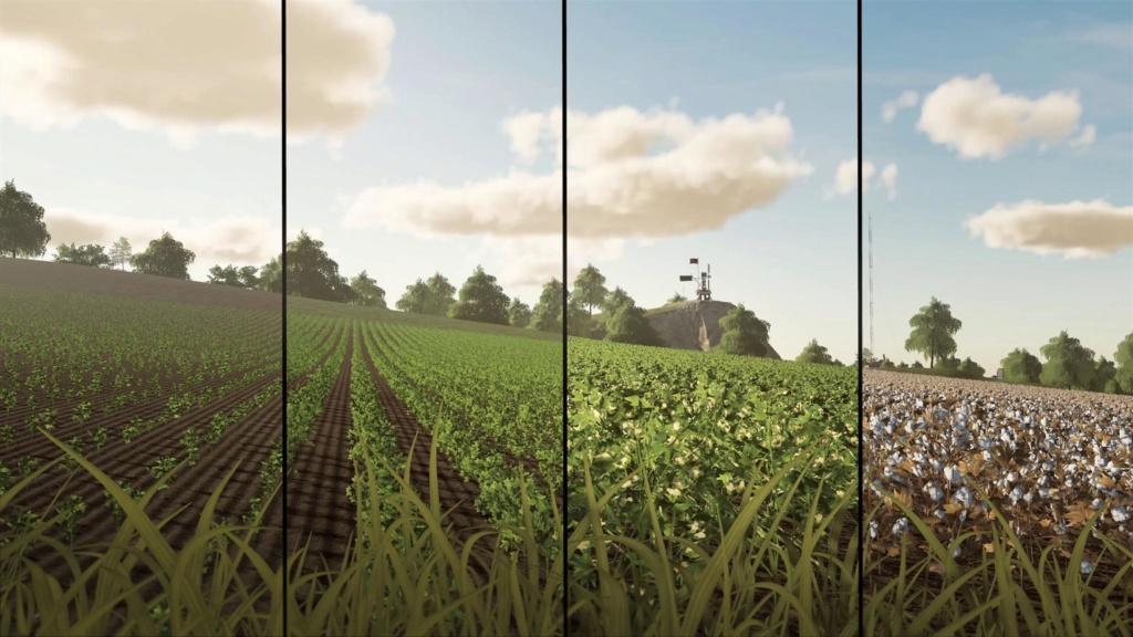 Farming Simulator 19 : devBlog #3 : Nouvelles cultures et lutte contre les mauvaises herbes 1010