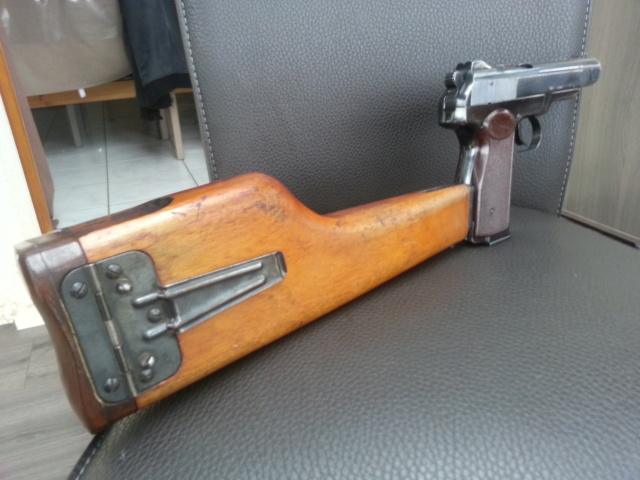 Présentation pistolet Stechkin APS 9x18  210
