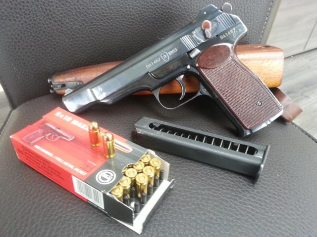 Présentation pistolet Stechkin APS 9x18  310