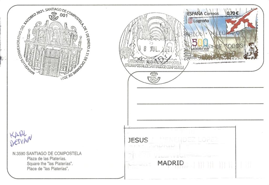 ESPAÑA - MATASELLOS TURÍSTICOS - Página 20 Santia10