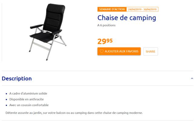 Chaise de Camping Annota11