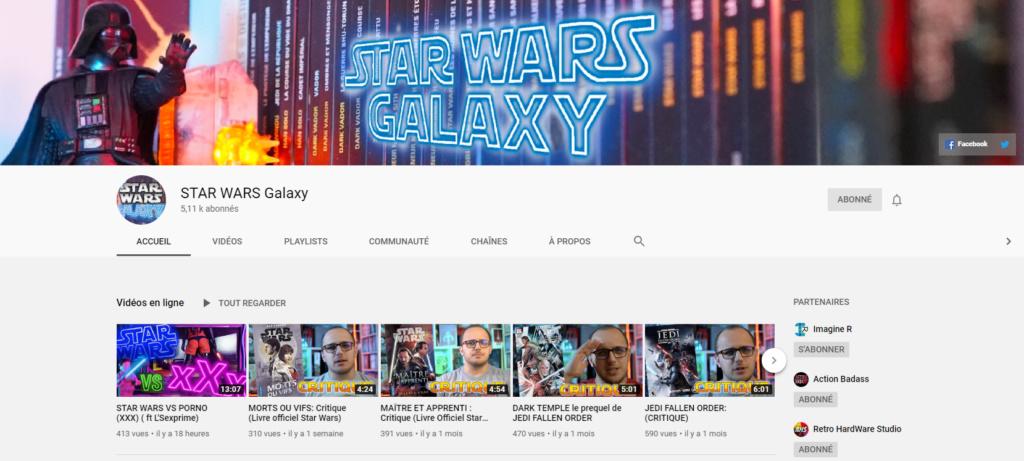★★★ Le Vidéaste à l'Honneur #45 | Star Wars Galaxy | Venez critiquer cette chaîne ! Captur49